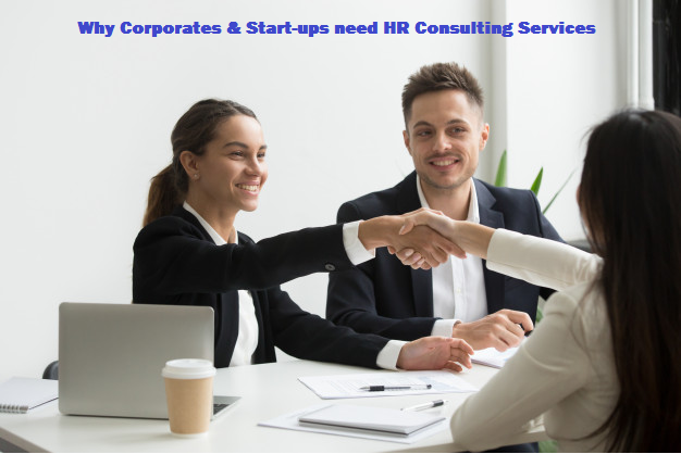 Why Corporates & Start-ups need HR Consulting Services